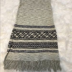 Free People Women's Fringe Sweater Skirt